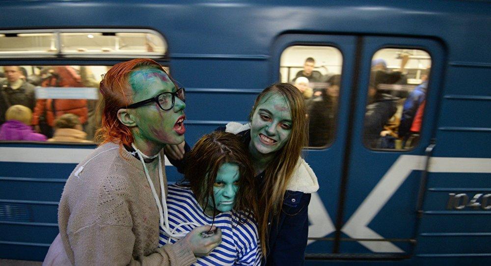 Хеллоуин. Архивное фото