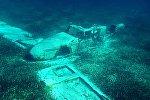 Затонувший самолет, архивное фото