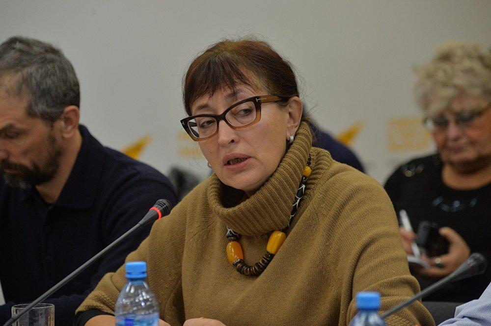 Председатель правления Белорусского общественного объединения Отдых в деревне Валерия Клицунова