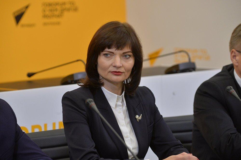 Заместитель министра по налогам и сборам Светлана Шевченко