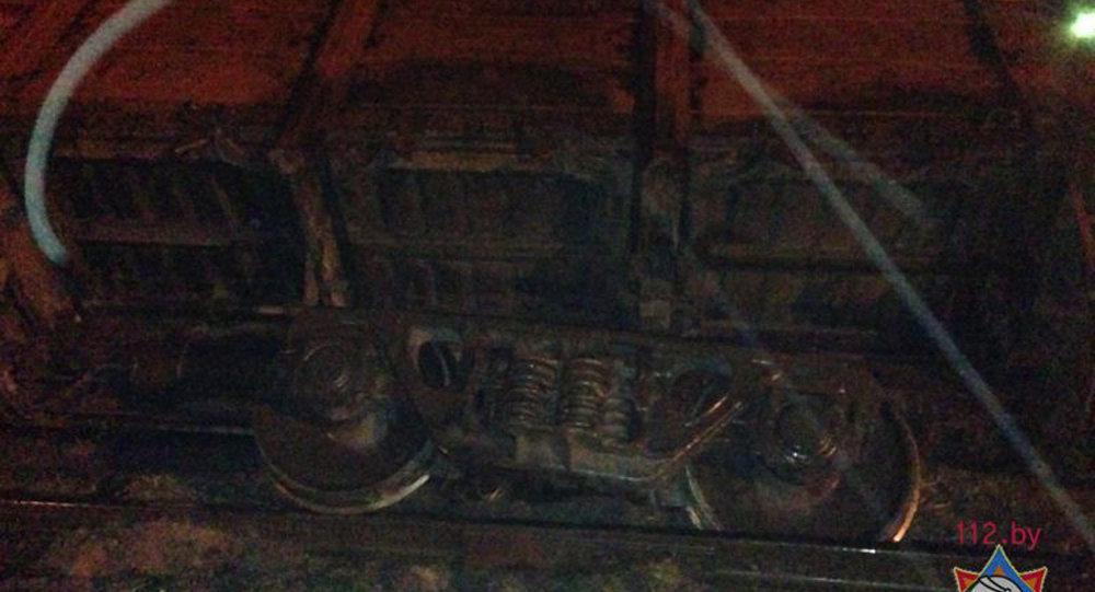 ВГродненском районе опрокинулся вагон с55 тоннами сладкой свеклы