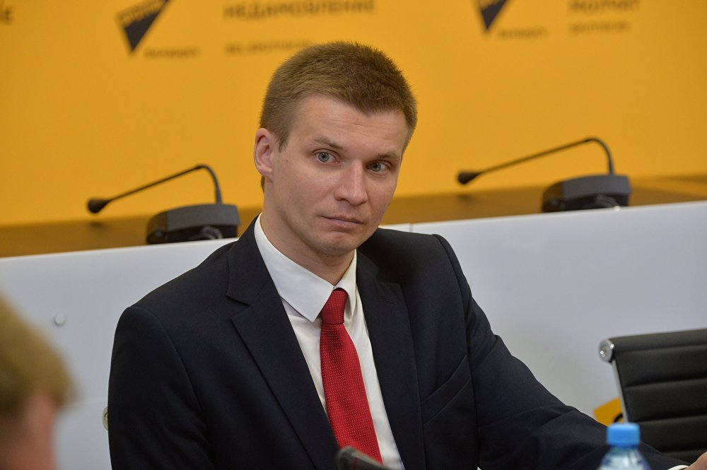 Заместитель директора департамента по туризму Министерства спорта и туризма Виталий Грицевич
