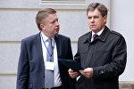 Посол Республики Беларусь в РФ Игорь Петришенко (справа)