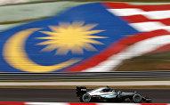 Отрезок трассы Гран-при Малайзии