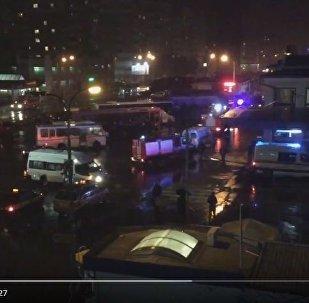 Эвакуация вокзала в Бресте