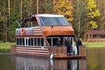 VIP-гости из Польши приехали на Августовский канал по воде