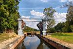 Августовский канал, шлюз - на границе Польши и Беларуси