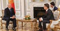 Сустрэча Аляксандра Лукашэнкі з намеснікам Генеральнага сакратара ААН Крысціянам Фрыісам Бахам