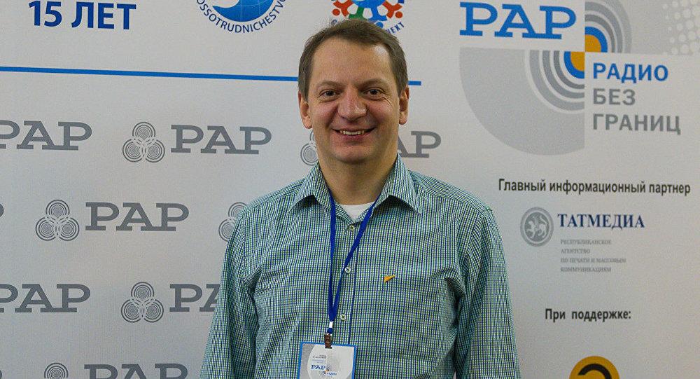 Руководитель радиовещания на русском языке МИА и радио Sputnik Алексей Орлов