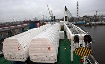 Ракеты Союз-СТ в контейнерах, архивное фото