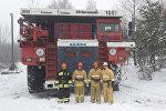Пожарный БелАЗ