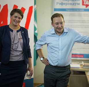 Татьяна Короткевич и Андрей Дмитриев