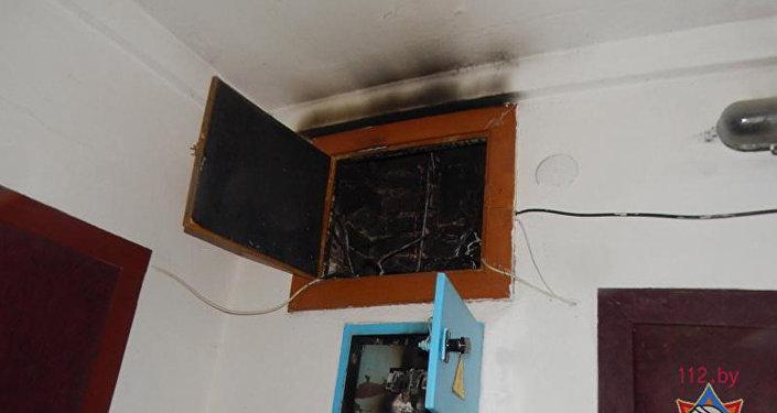 ВОршанском районе напожаре вбане умер пенсионер— МЧС