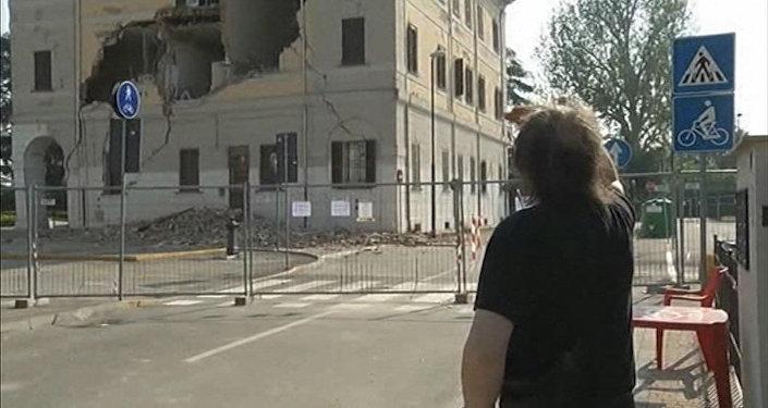Метро вРиме временно закрыто после землетрясения