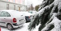 Снег и автомобили