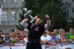 Победитель Arnold Amateur Strongman World Championships - 2013 Михаил Шивляков