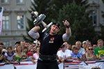 Победитель Arnold Amateur Strongman World Championships - 2013 Михаил Шивляков
