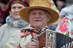 Празднование Масленицы в Белоруссии