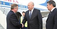 Андрэй Кабякоў у Кыргызстане