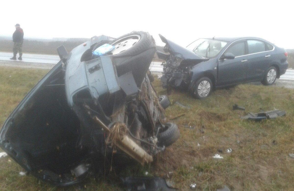 Две иномарки столкнулись «лоб влоб» вЗельвенском районе: пассажир вреанимации