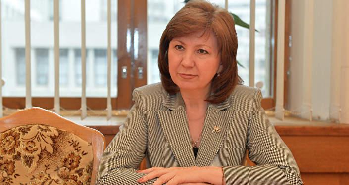 Вице-премьер Республики Беларусь Наталья Кочанова