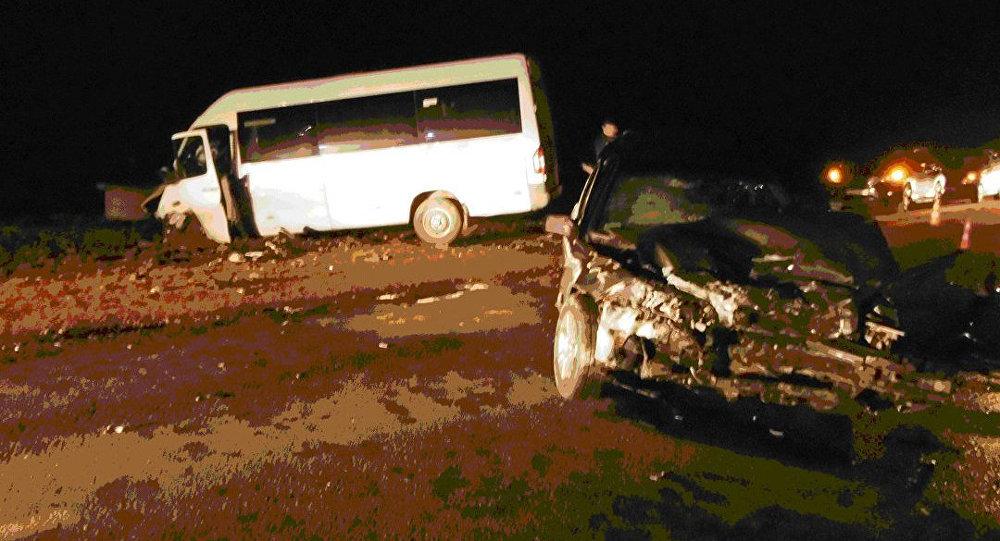 Женщина на Вольво врезалась вмаршрутку вГродно: бус вылетел наполе