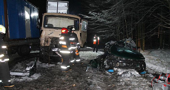 ВСтолбцовском районе велосипедиста насмерть сбил микроавтобус