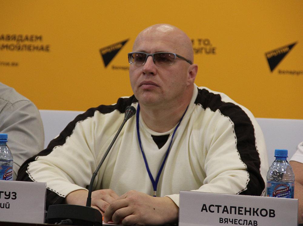 Председатель Белорусской федерации силового многоборья Димитрий Кривогуз