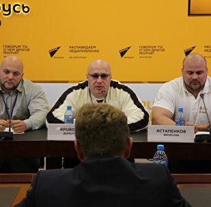 Пресс-конференция самых сильных людей