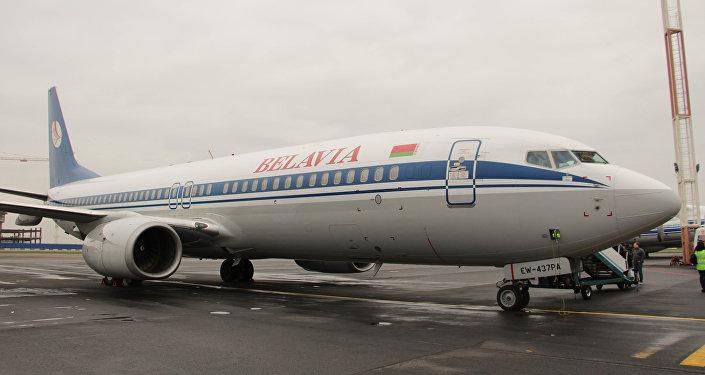 Самалёт авіякампаніі Белавія