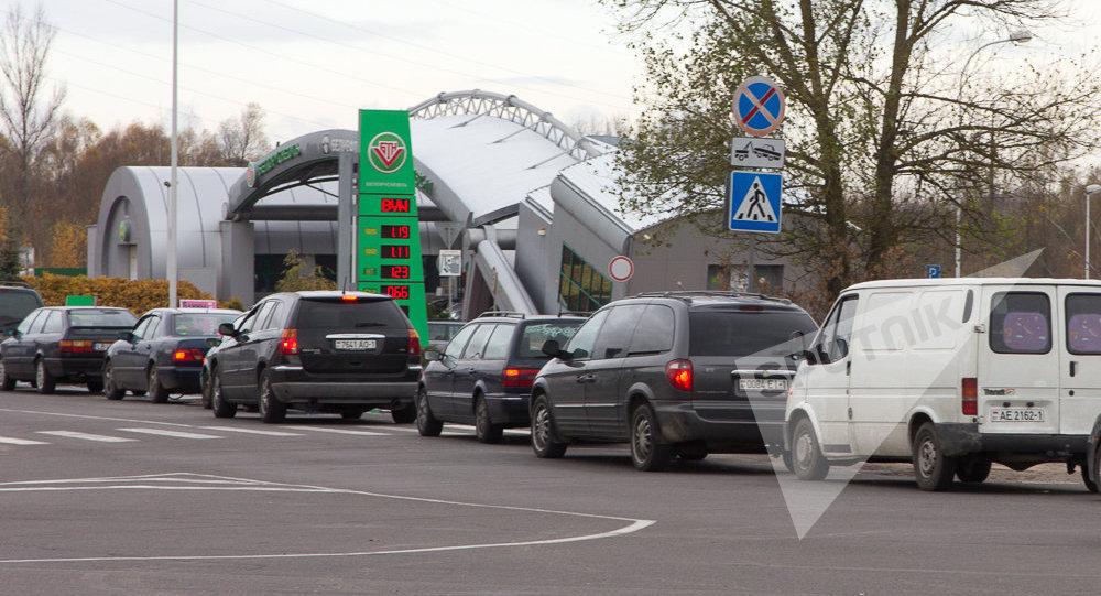Навыезде из Республики Беларусь вЛитву скопились очереди
