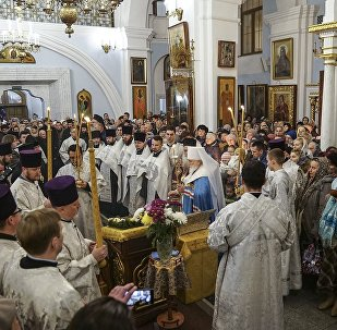 Десницу великомученика Димитрия Солунского привезли в Минск