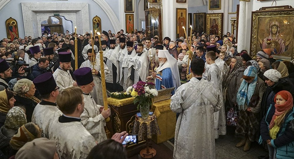 Десницу великомученика Димитрия Солунского привезли вМинск