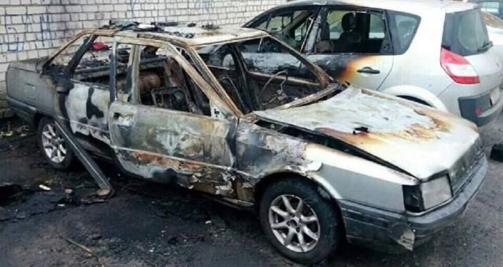 ВМинском районе мужчина пытался сжечь нескольких человек