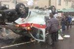 Авария со скорой на улице Богдановича в Минске