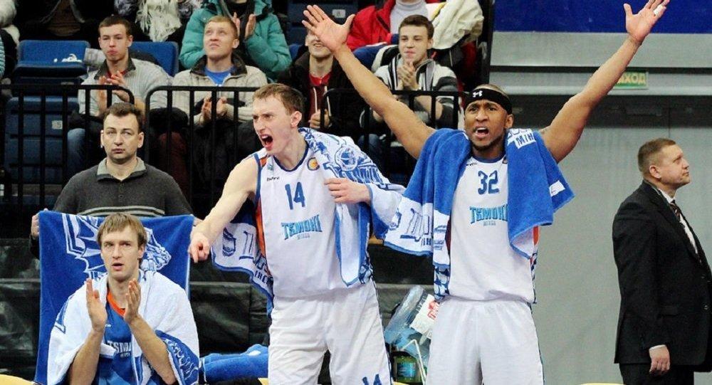 Баскетбол: «Цмокi-Мiнск» потерпели поражение вЕдиной Лиге ВТБ отлатвийского «ВЭФа»