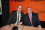 Олег Гайдукевич и Георгий Атаманов