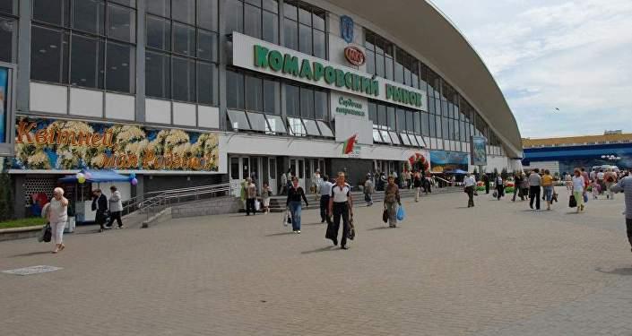 Минская полиция  проводит проверку пофакту взлома аккаунта в социальная сеть Instagram  Комаровского рынка