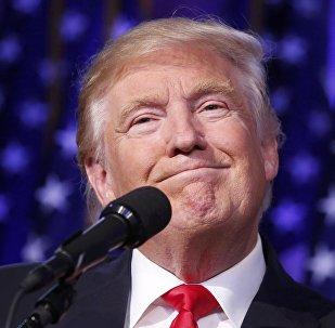 Абраны прэзідэнт ЗША Дональд Трамп