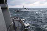 Корабли НАТО в море, архивное фото