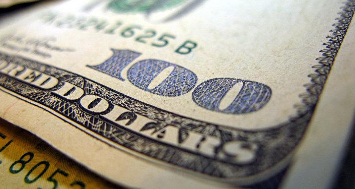 Надпись на долларовой купюре