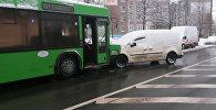 Авария на улице Чайлытко в Минске