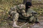 Показательные выступления пограничной службы в Крыму, архивное фото