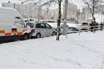 ДТП на пересечении улиц Чайлытко и Горецкого