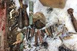 Боеприпасы, найденные в г. Барань