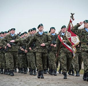 Польскія вайскоўцы ў складзе Сіл рэагавання НАТА