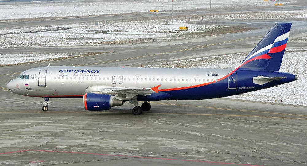 Самолет А320 авиакомпании Аэрофлот