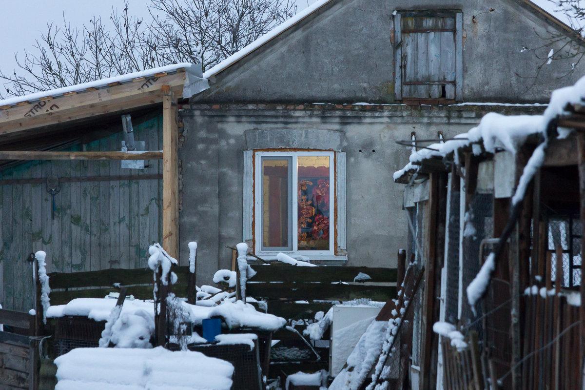 Старый дом, в кортом живет семья Экрема, турок планирует реконструировать