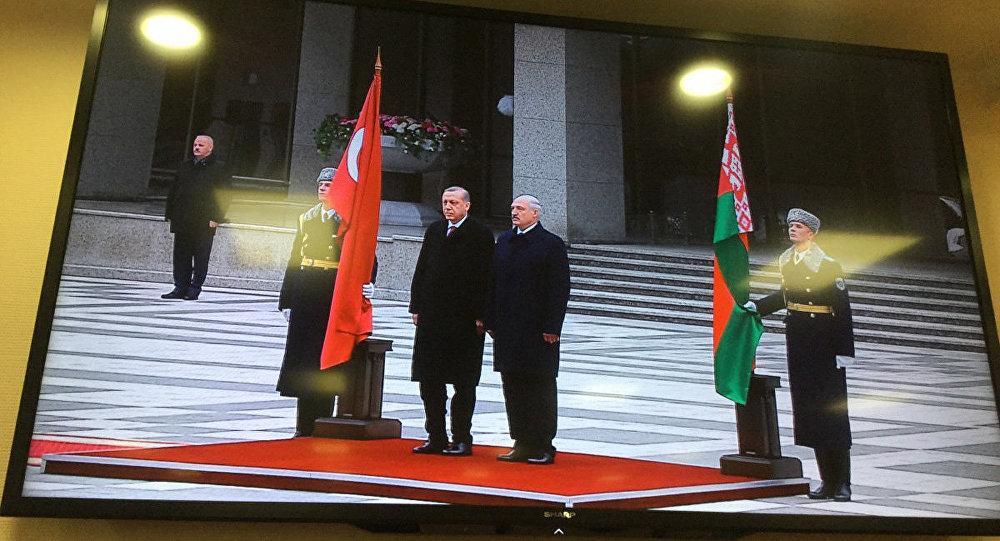 Эрдоган совершит официальный визит вБеларусь