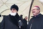 Митрополит Минский и Заславский Павел и Апостольский нунций Габор Питнер